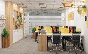 thiết kế nội thất văn phòng tại Bình Dương