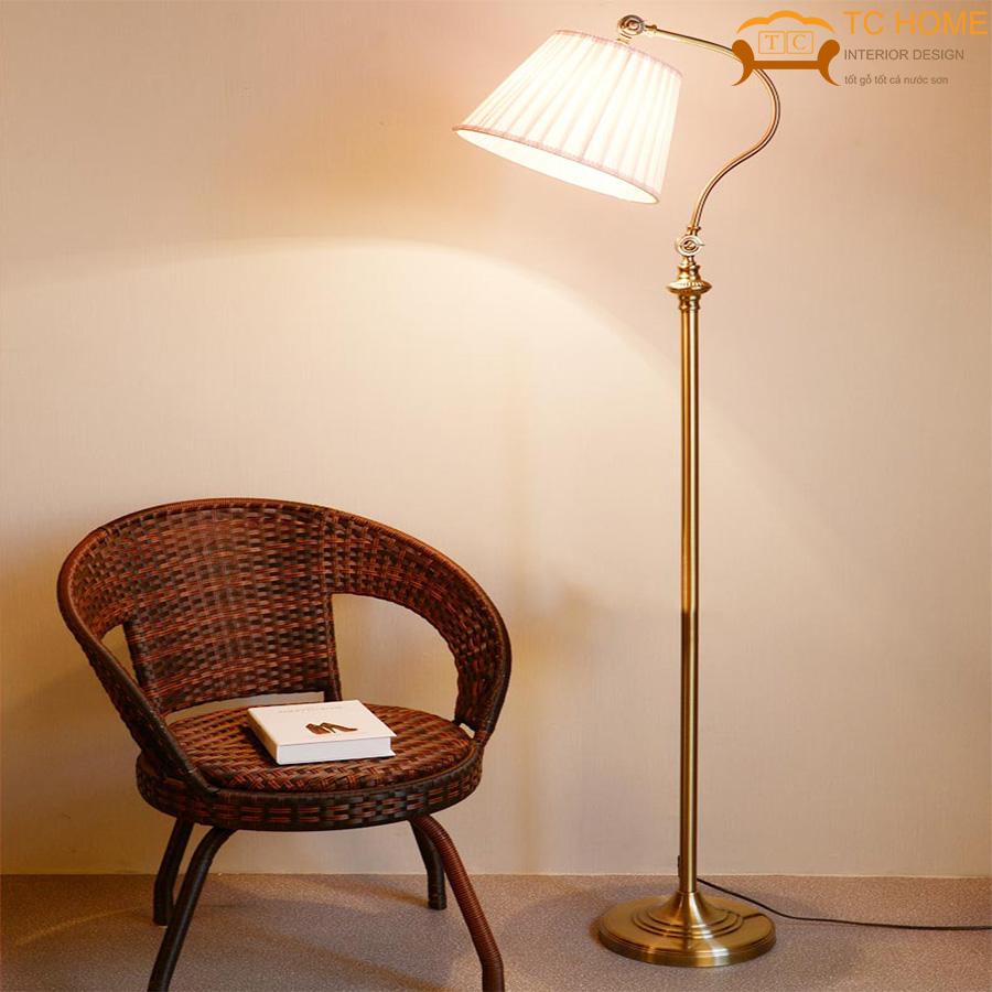 đèn cây trang trí phòng khách HCM