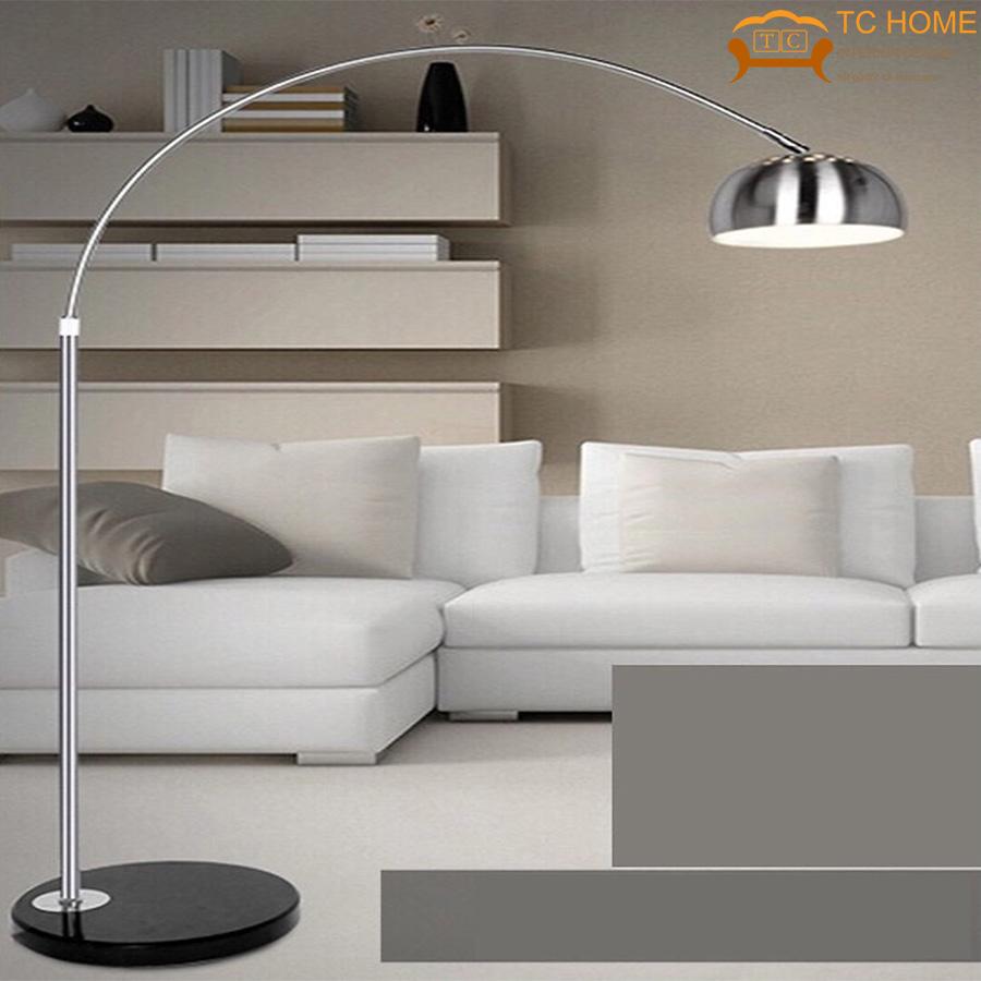 Đèn cây đứng hiện đại trang trí phòng khách