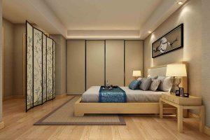 vách ngăng phòng ngủ