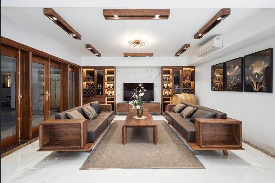 thiết kế thi công nội thất biệt thự trọn gói