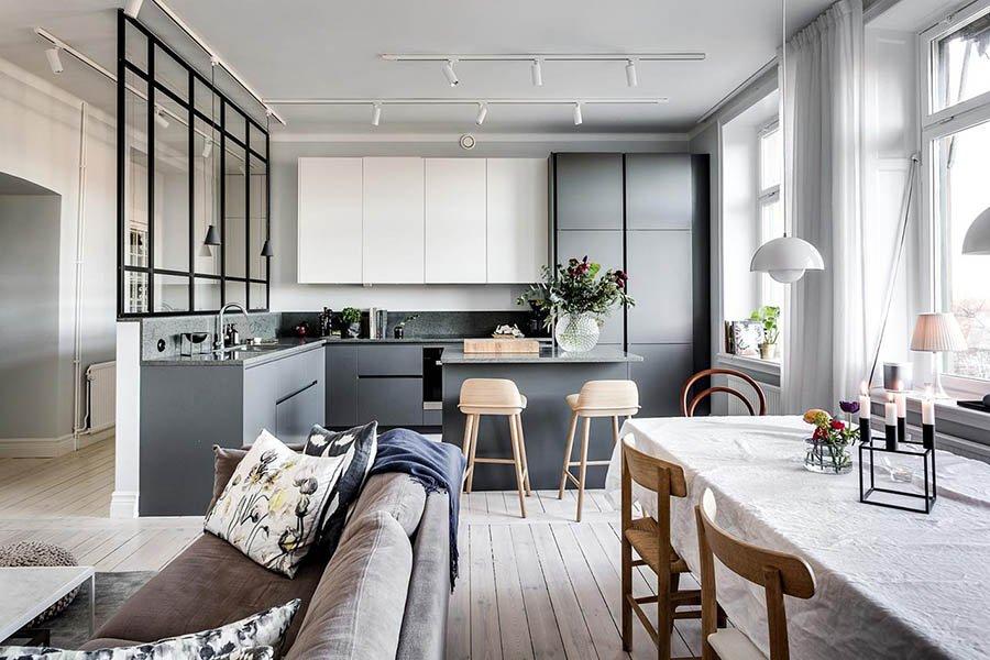 thiết kế thi công chung cư 2 phòng ngủ