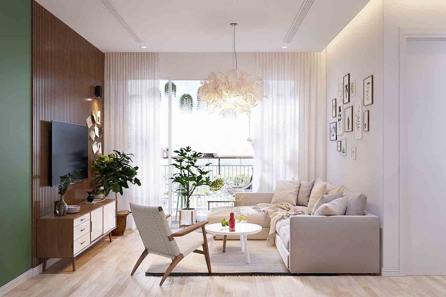 thi công nội thất chung cư lavita charm
