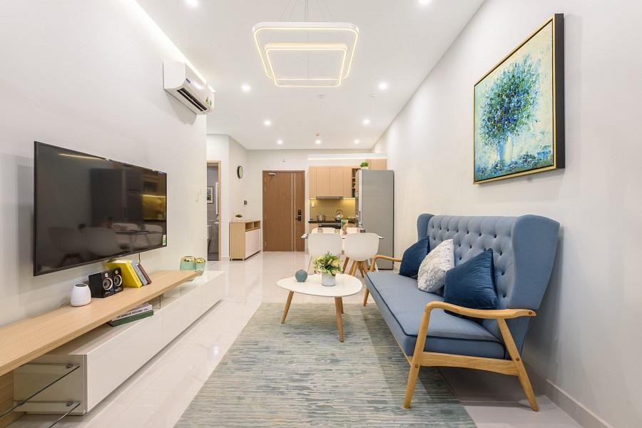 thiết kế nội thất căn hộ 45m2