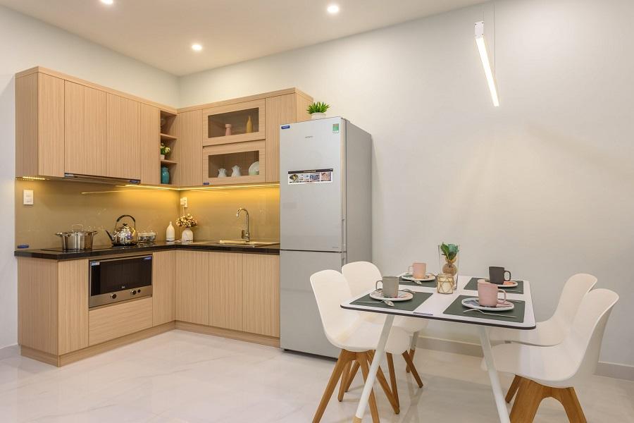 thiết kế căn hộ chung cư 45m2