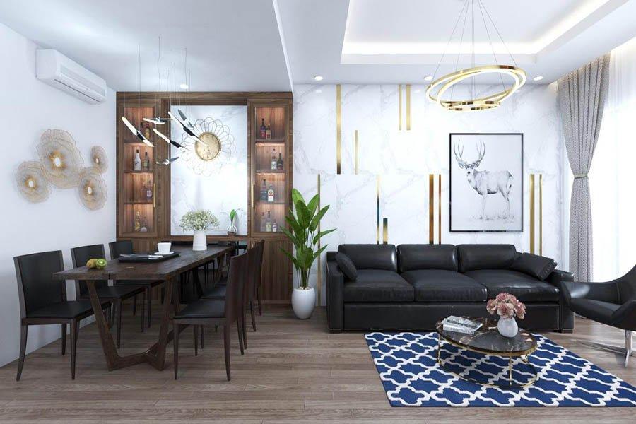 công ty thiết kế thi công nội thất tc home