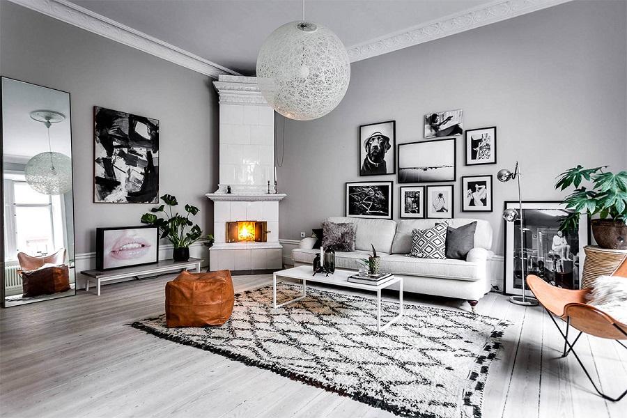 thiết kế thi công nội thất chung cư 2 phòng ngủ