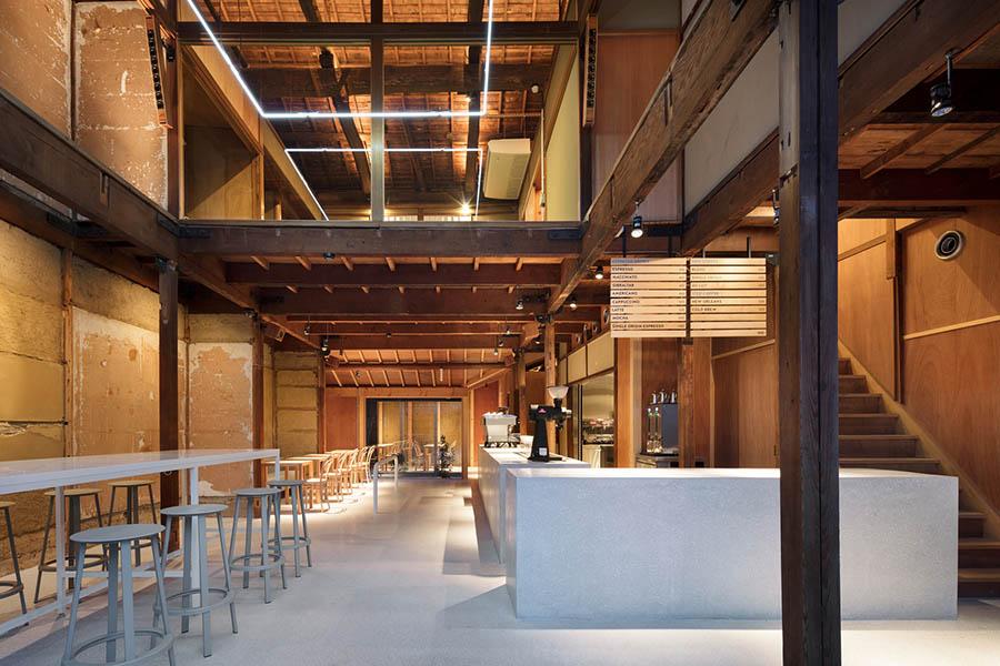 thiết kế quán cafe đẹp kiểu nhật