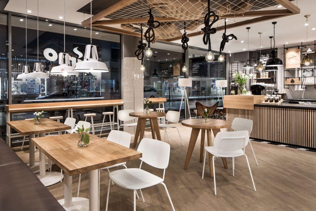 công ty thiết kế nội thất quán cafe tại TP HCM - nội thất TC Home
