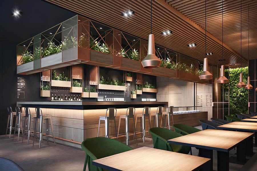 thiết kế quán cafe đẹp tại tp hcm