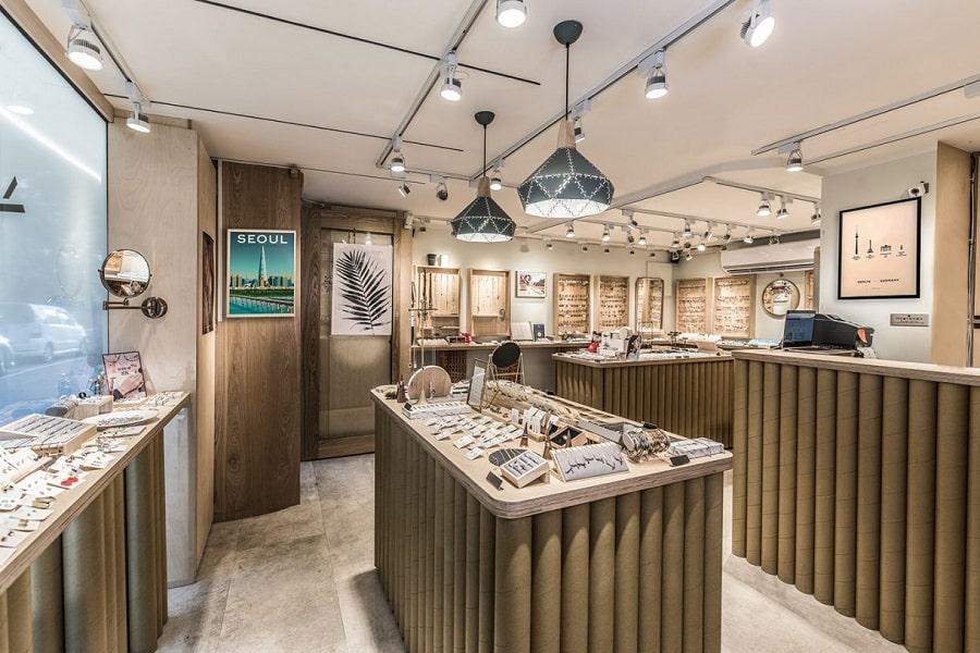 thiết kế showroom phong cách rutic hiện đại (1)