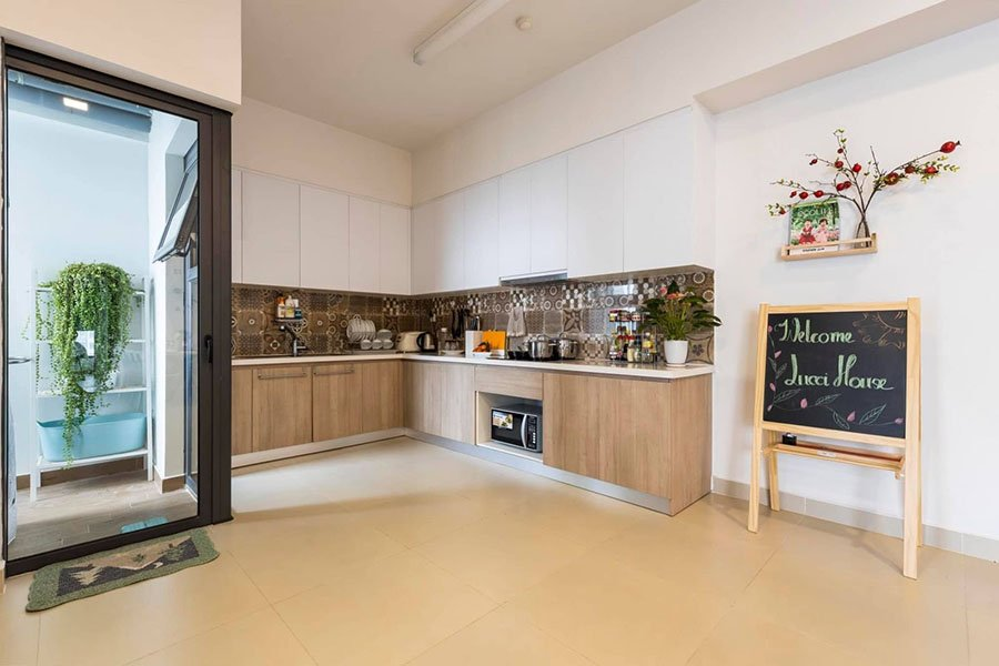 nội thất bếp chung cư