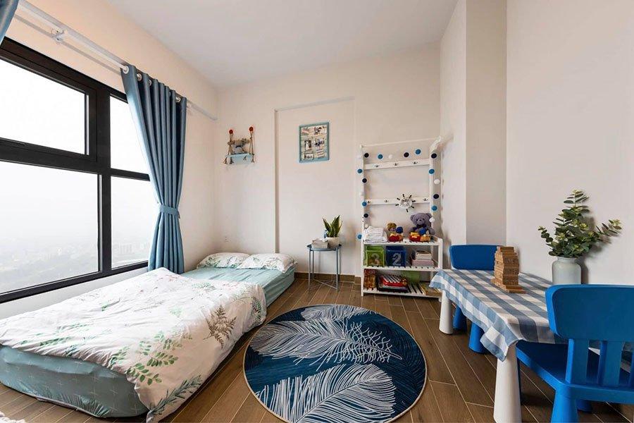 thiết kế thi công nội thất phòng ngủ chung cư
