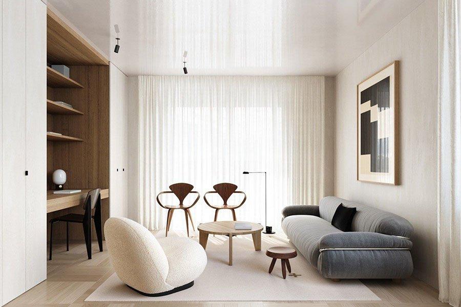 thiết kế nội thất chung cư mini giá rẻ