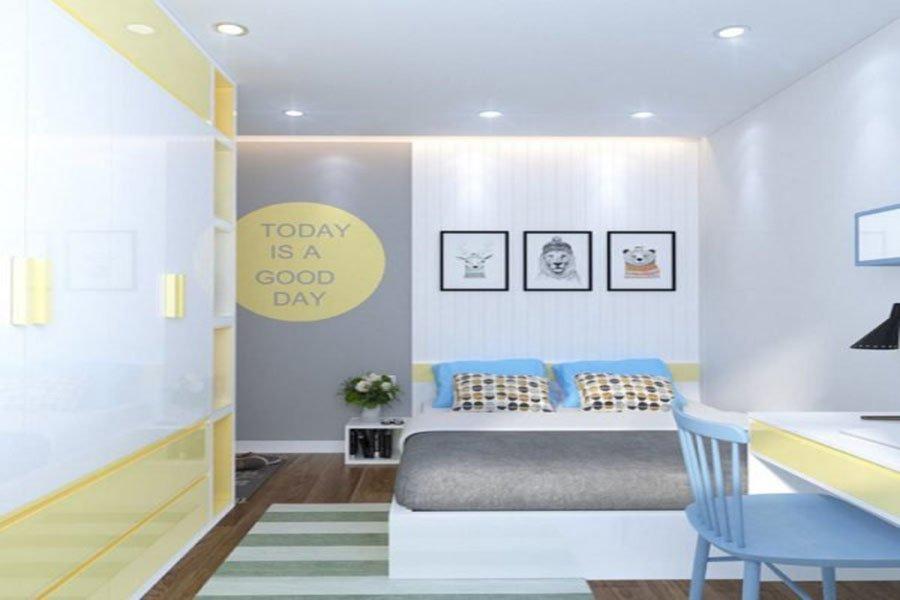 thiết kế nội thất căn hộ 65m2 giá rẻ