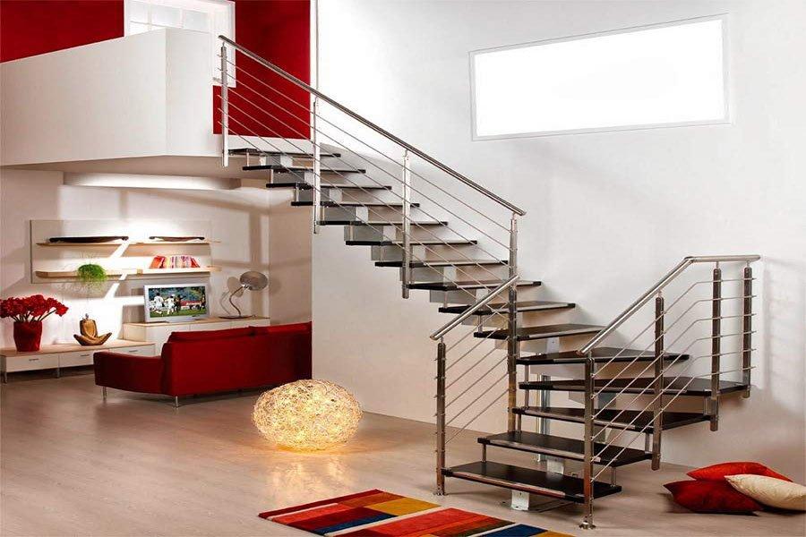các mẫu cầu thang đẹp cho nhà ống giá rẻ