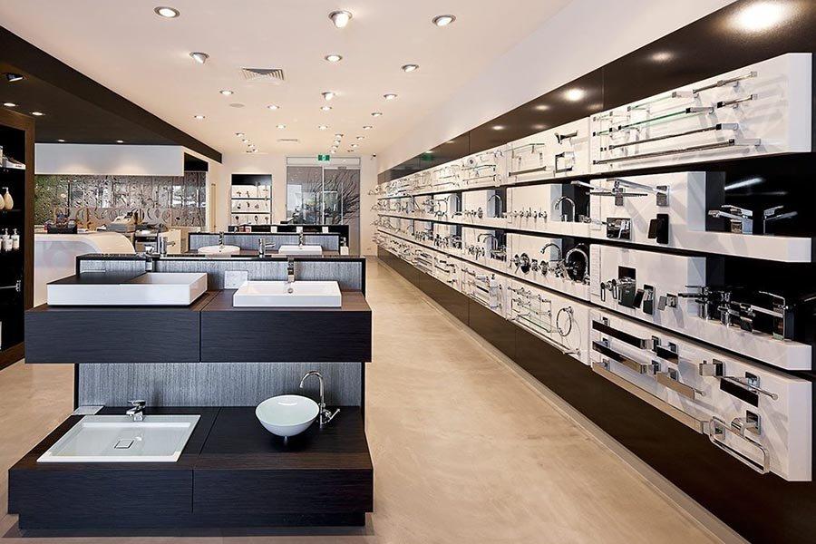thiết kế showroom nội thất thiết bị vệ sinh