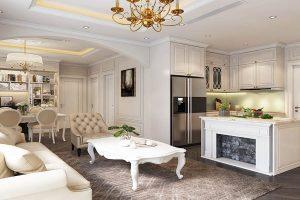 thiết kế nội thất chung cư giá rẻ tại tphcm