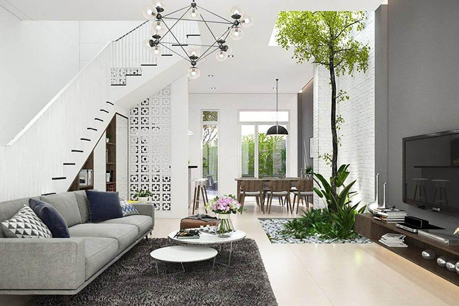 thiết kế thi công nội thất nhà phố sang trọng
