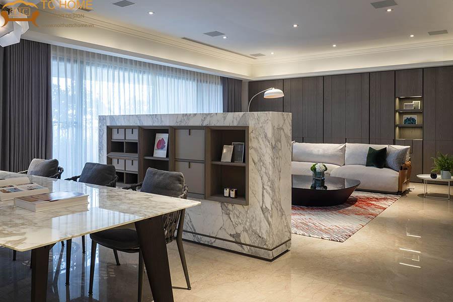 thiết kế thi công nội thất biệt thự cô huyền