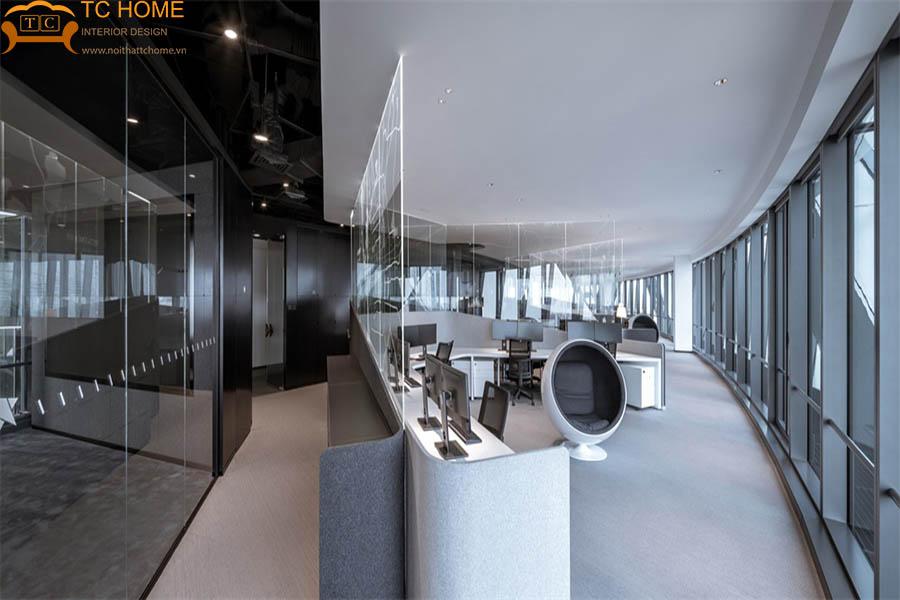 thi công nội thất văn phòng hiện đại q7
