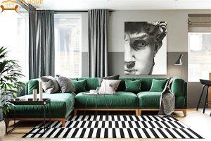 Thiết kế căn hộ phong cách Retro