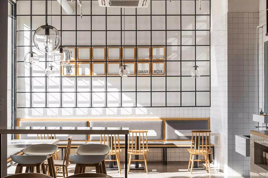 Trang trí tường nhà hàng đẹp