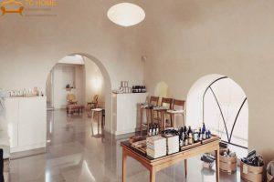 thiết kế spa sang chảnh phong cách Nhật Bản và Ả Rập