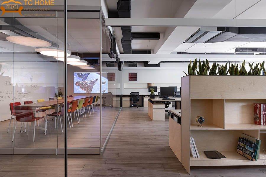 thiết-kế-văn-phòng-hiện-đại-không-gian-mở