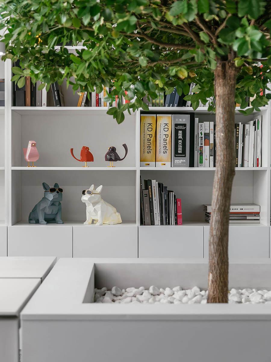 văn phòng đơn giản và tinh tế trong từng đường nét