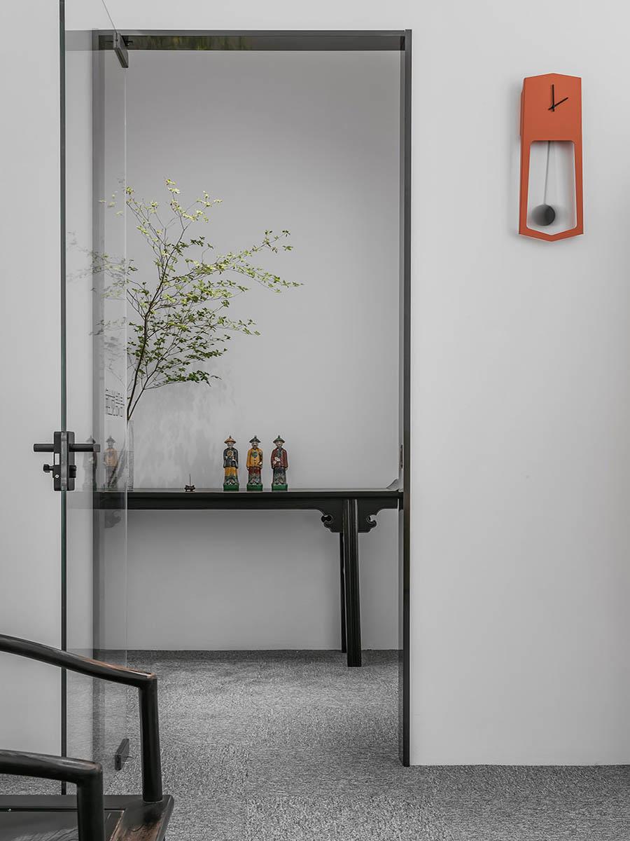 thiết kế văn phòng đơn giản và tinh tế trong từng đường nét