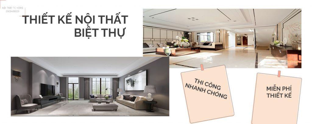 Công ty thiết kế nội thất biệt thự tp hcm uy tín